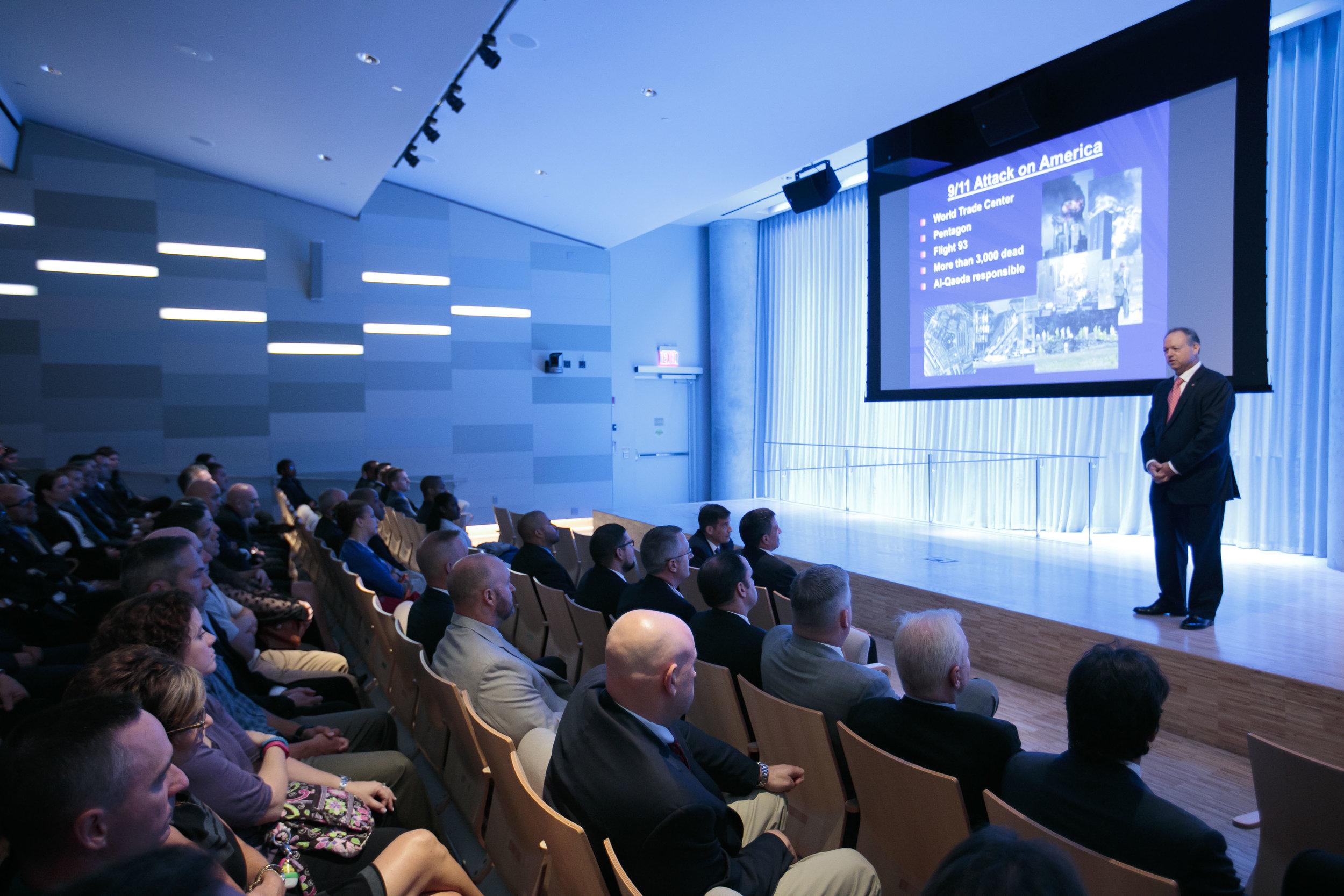 9/11 Memorial Speaker Series Conference
