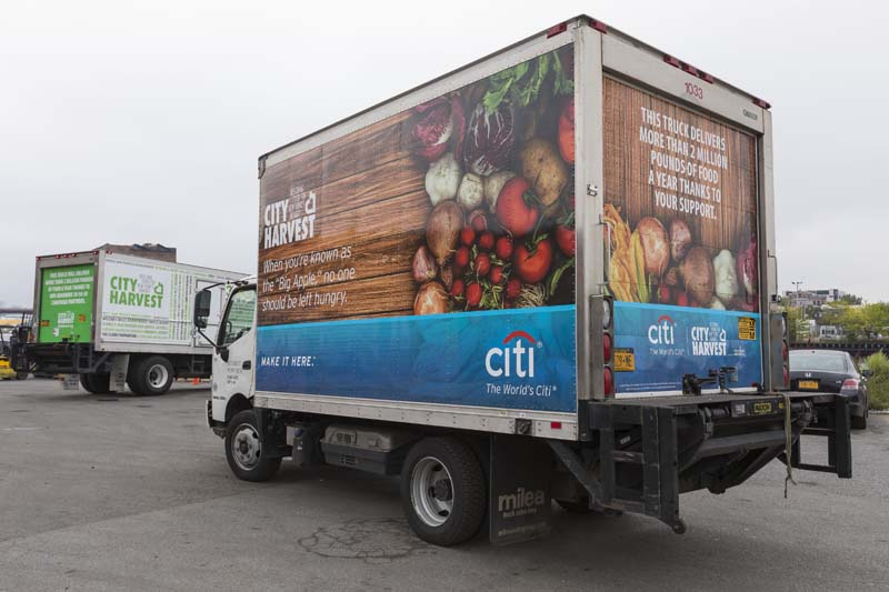 City Harvest Sponsorship branding