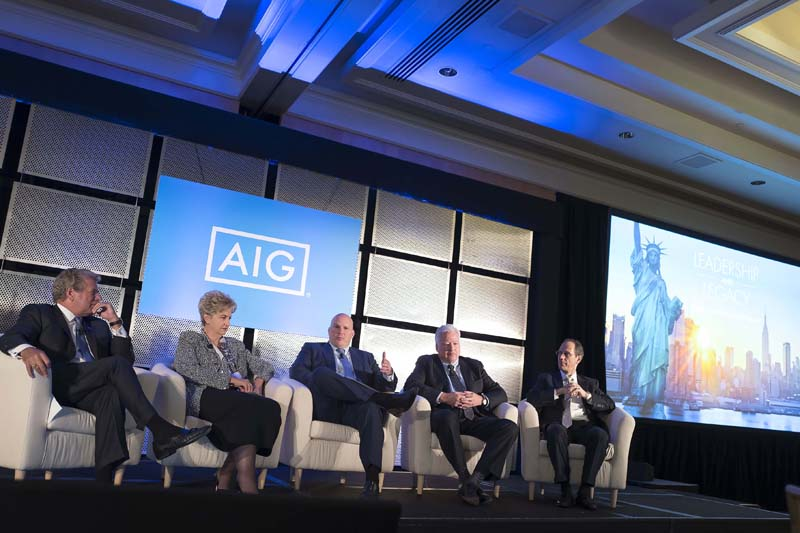 AIG conference Ritz Carlton Battery Park