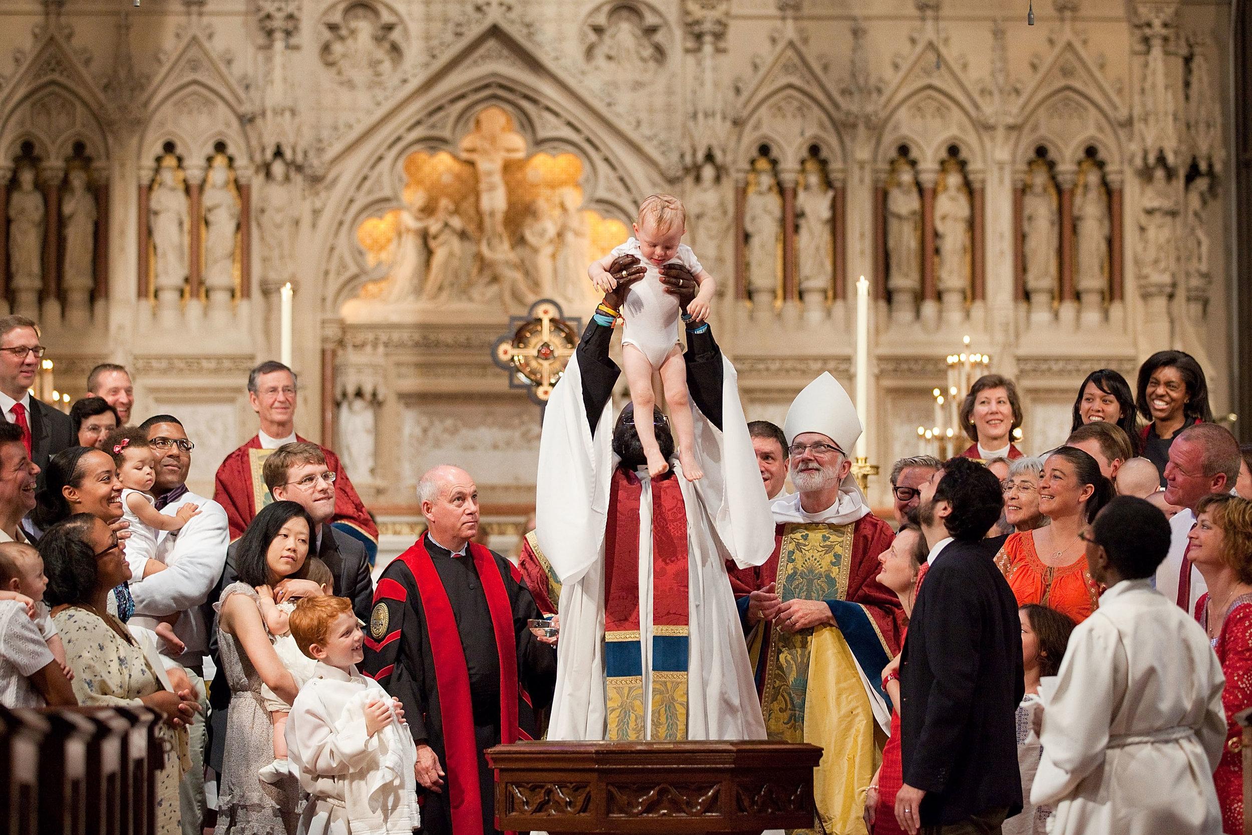 Baptism at Trinity Church