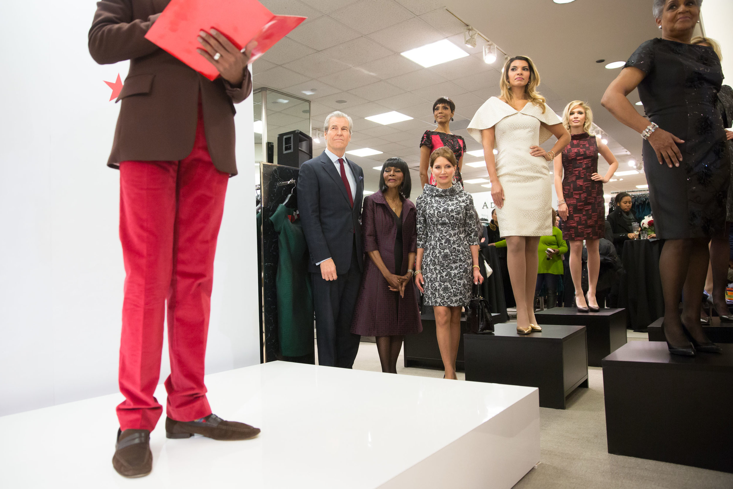 b Michael American Red Collection Launch Event