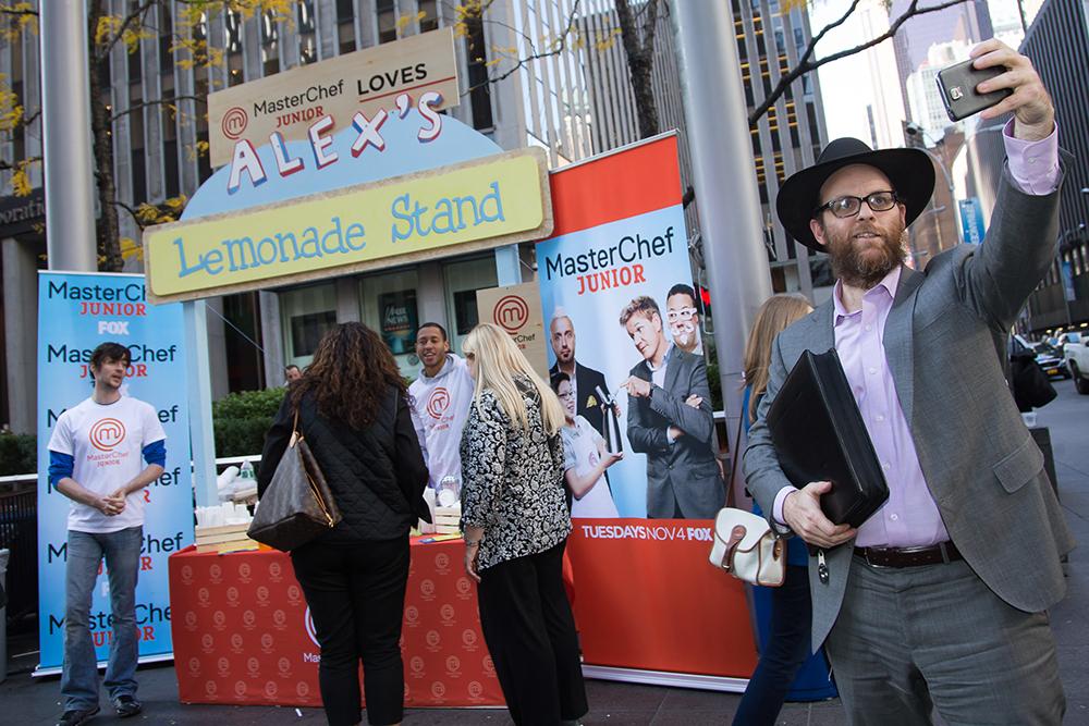 Masterchef Junior Pop-Up Lemonade Stand Hosted by FOX