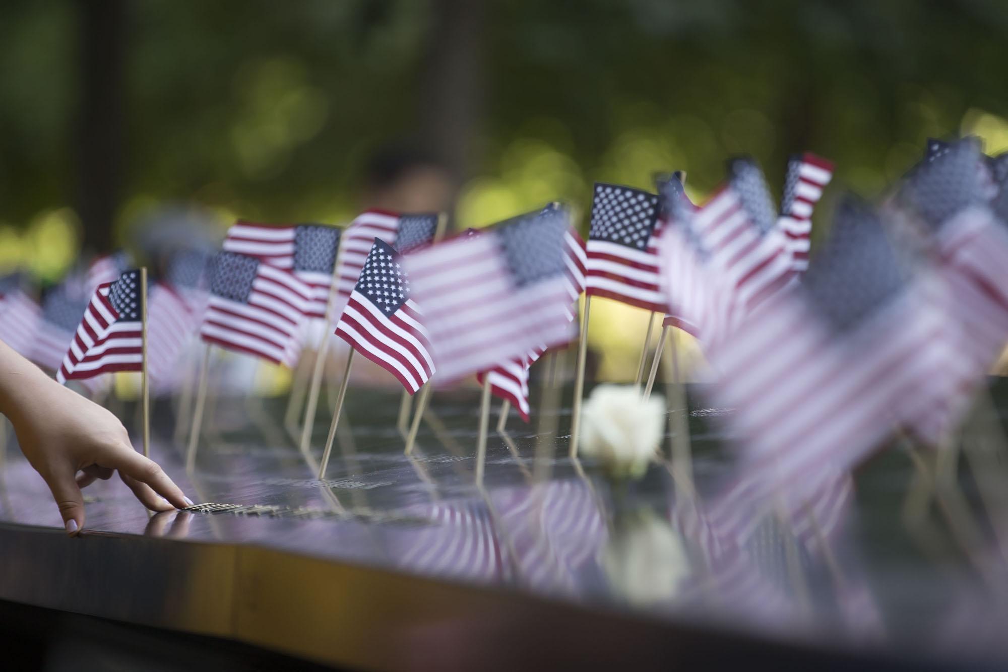 9/11 Memorial 4th of July American Flag