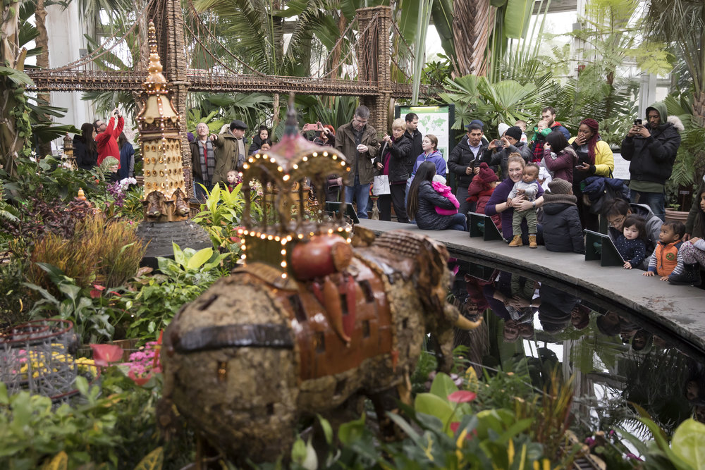 NYBG Holiday Train Show — Ben Hider