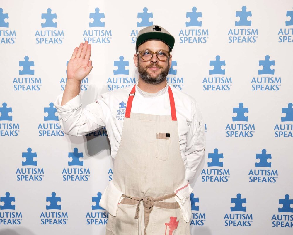 Chef at Autism Speaks