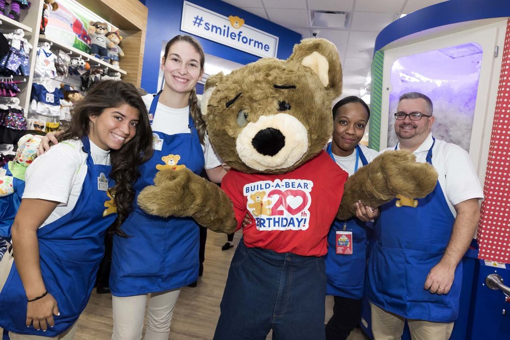 Build-A-Bear Opening NYC