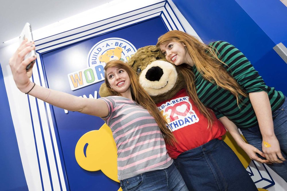 Build-A-Bear Opening NYC Selfie