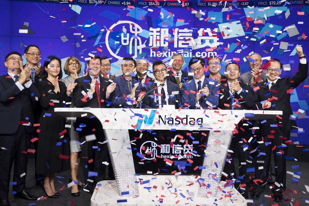 Nasdaq Chinese IPO Photographer