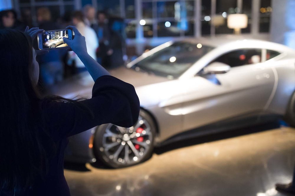 New York City Event Photographer Aston Martin Car Launch
