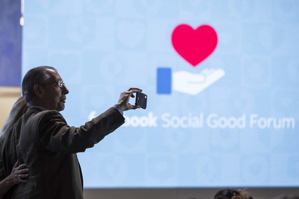 Facebook Social Good Forum Conference Photographer New York City