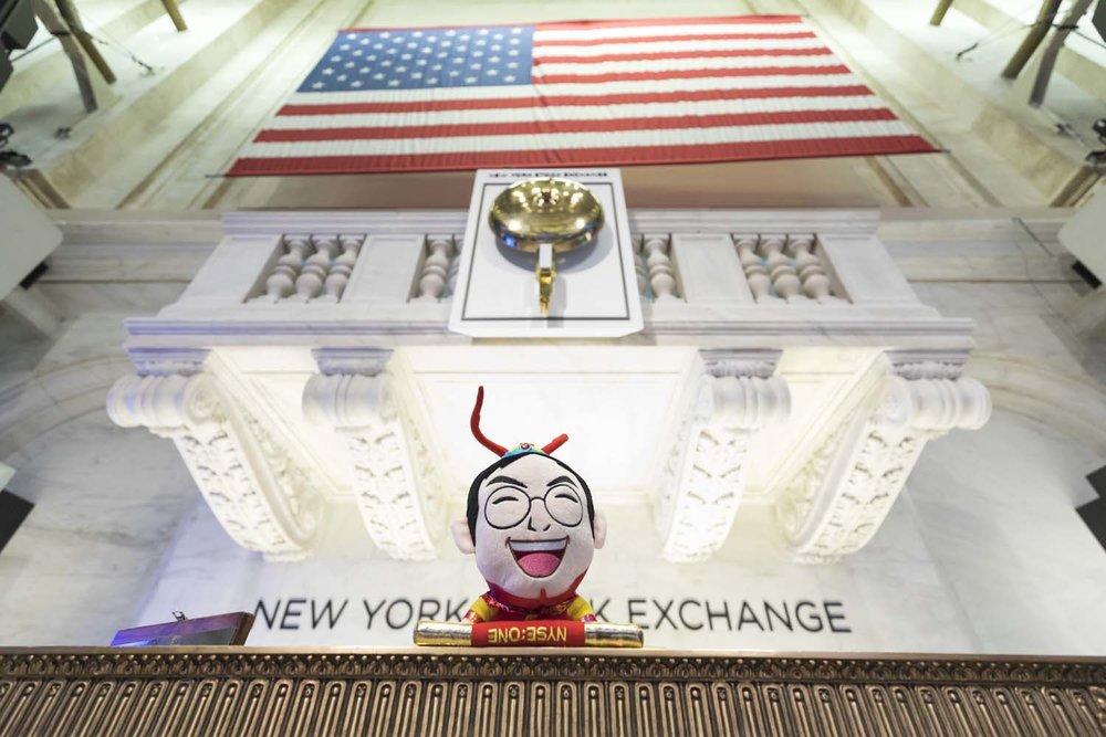 Bell Podium at NYSE
