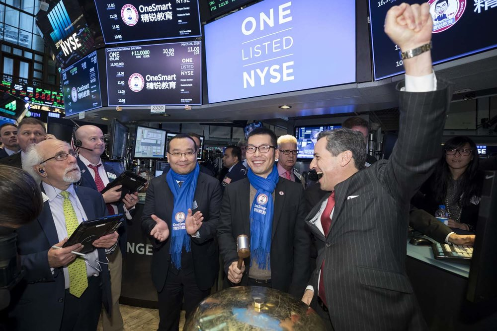 First Trade Bell at NYSE