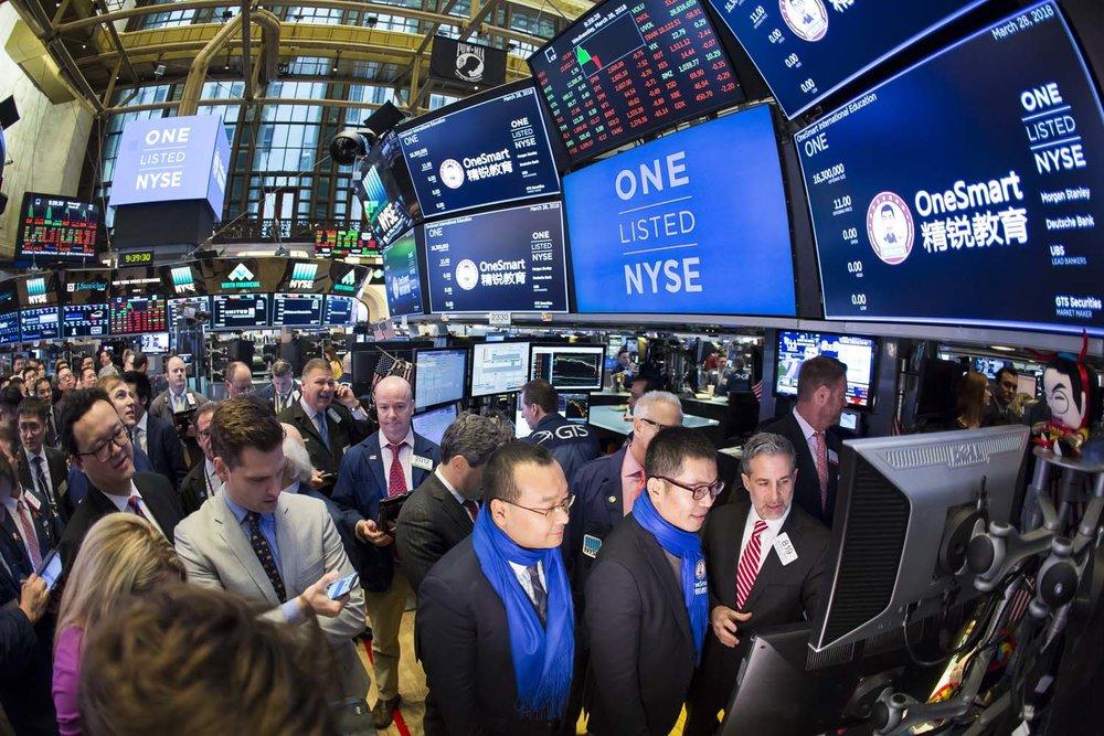 NYSE First Trade at GTS