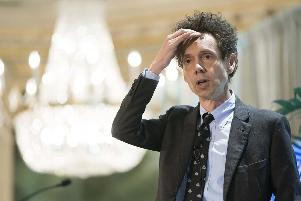 Malcolm Gladwell speaking in New York