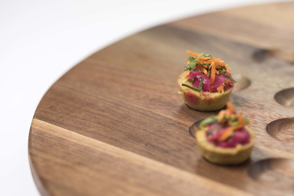 Passed Canapes NY Food Photographer