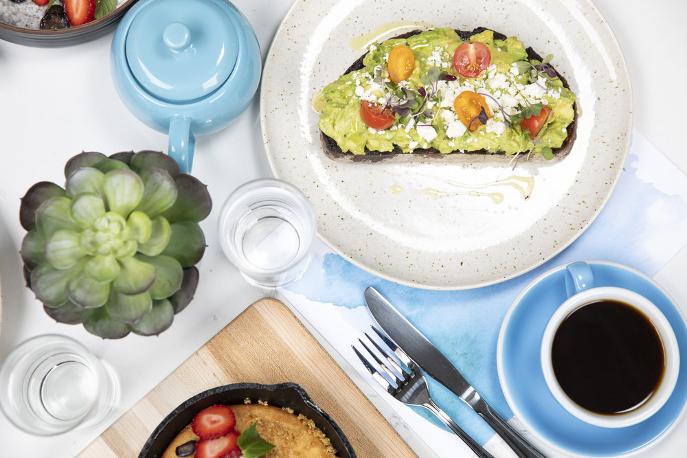 Bluestone Lane Food Photography