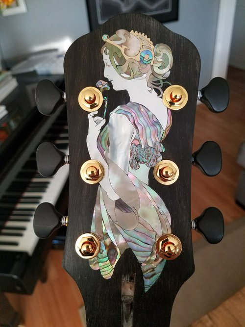 GUITAR HEADSTOCK INLAY