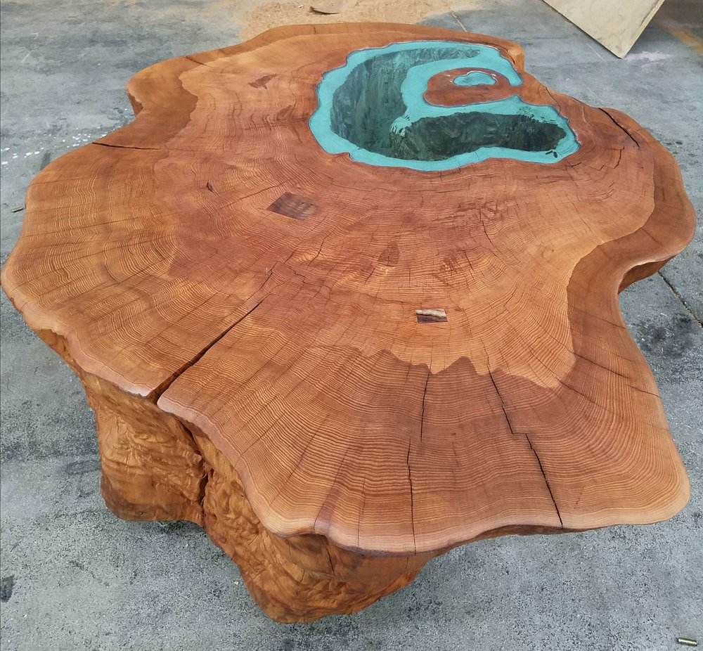 CALDERA LAKE TABLE