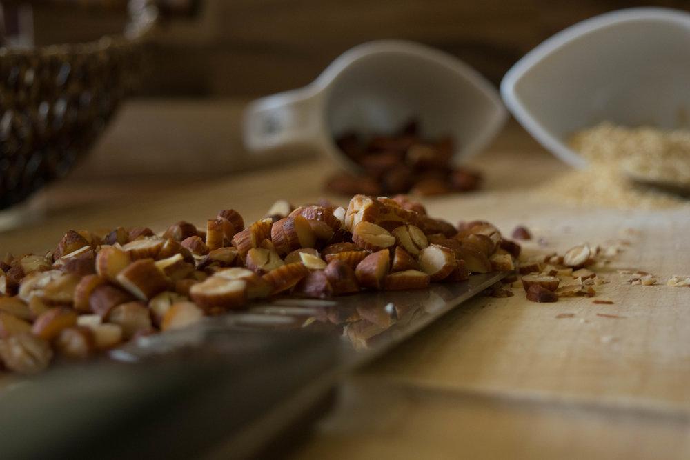 Caramel Almond Belgian Waffles The Savour