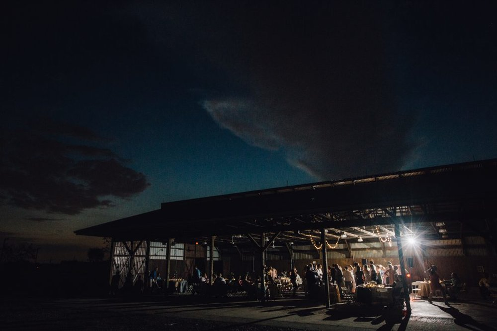 The Barn at Night