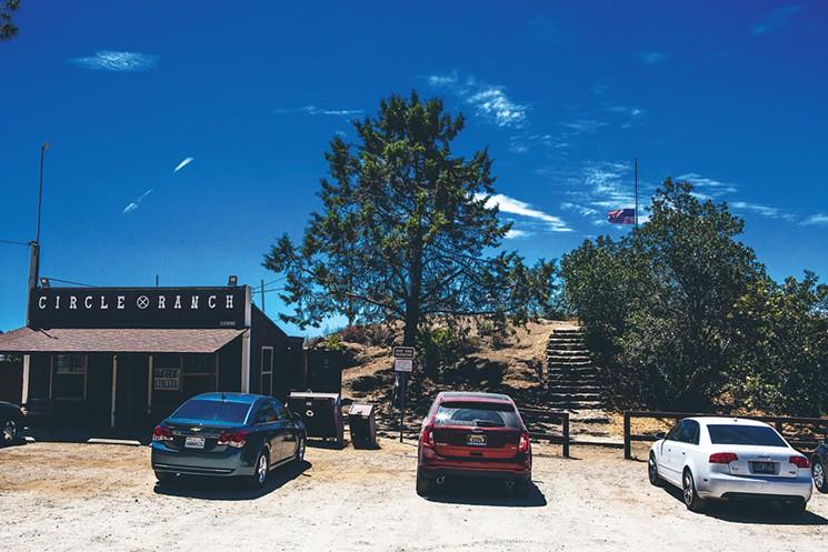 Circle X Ranch off Yerba Buena, near Sandstone Peak  Photo by Ryan Orange
