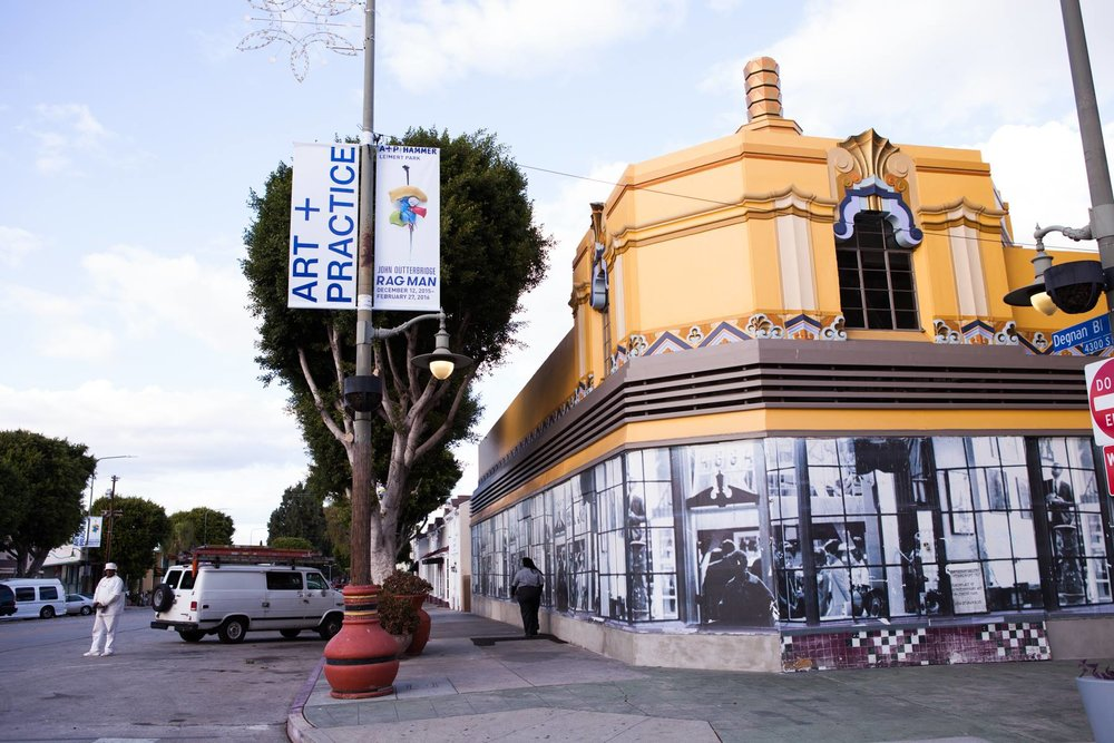 Los Angeles-based non-profit Art + Practice was started by artist Mark Bradford, activist Allan di Castro, and collector Eileen Harris. Photo: Art + Practice via Facebook.