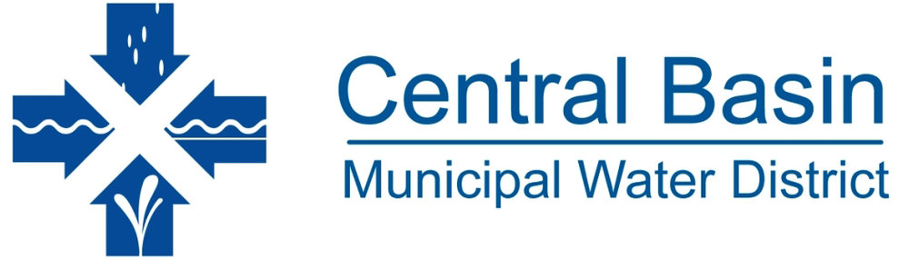 Despite its name, the Central Basin Municipal Water District doesn't supply water directly to customers. The district oversees the management of the Central Groundwater Basin from which city water departments and for-profit water companies extract the water used by homes, businesses, and industry. Logo courtesy of the CBMWD.
