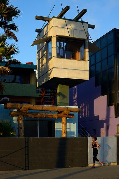 The Norton House in Venice, California, designed by Frank Gehry. Photograph: Stephen McLaren