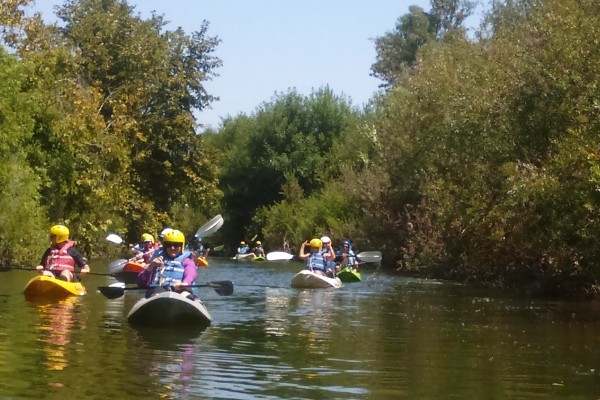 Kayak tours have been part of Los Angeles River Revitalization plans. (Photo/City of Los Angeles)