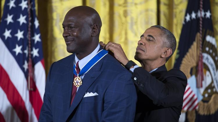 Presidential Medal of Freedom ceremony at the White House.