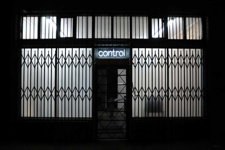 The facade of Control Room, formerly at 2006 E. Seventh St.