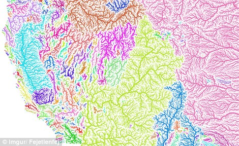 Imgur Imaging: Every River In The U.S.