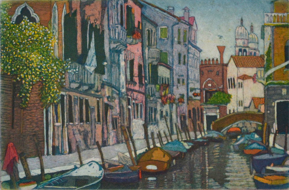 Euro Routes II: Canal (Venice)