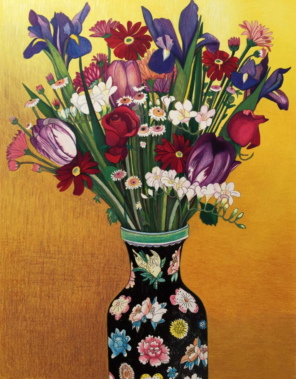 Flowers, Flowered Vase