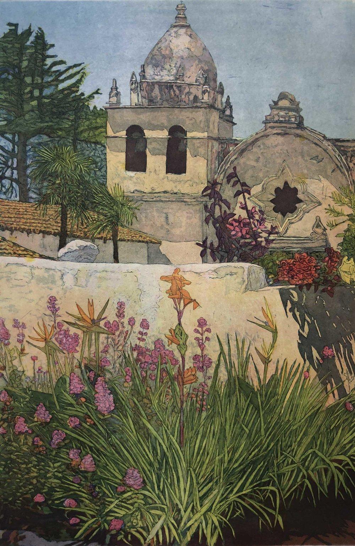 Landmark IV: Carmel Mission Wall