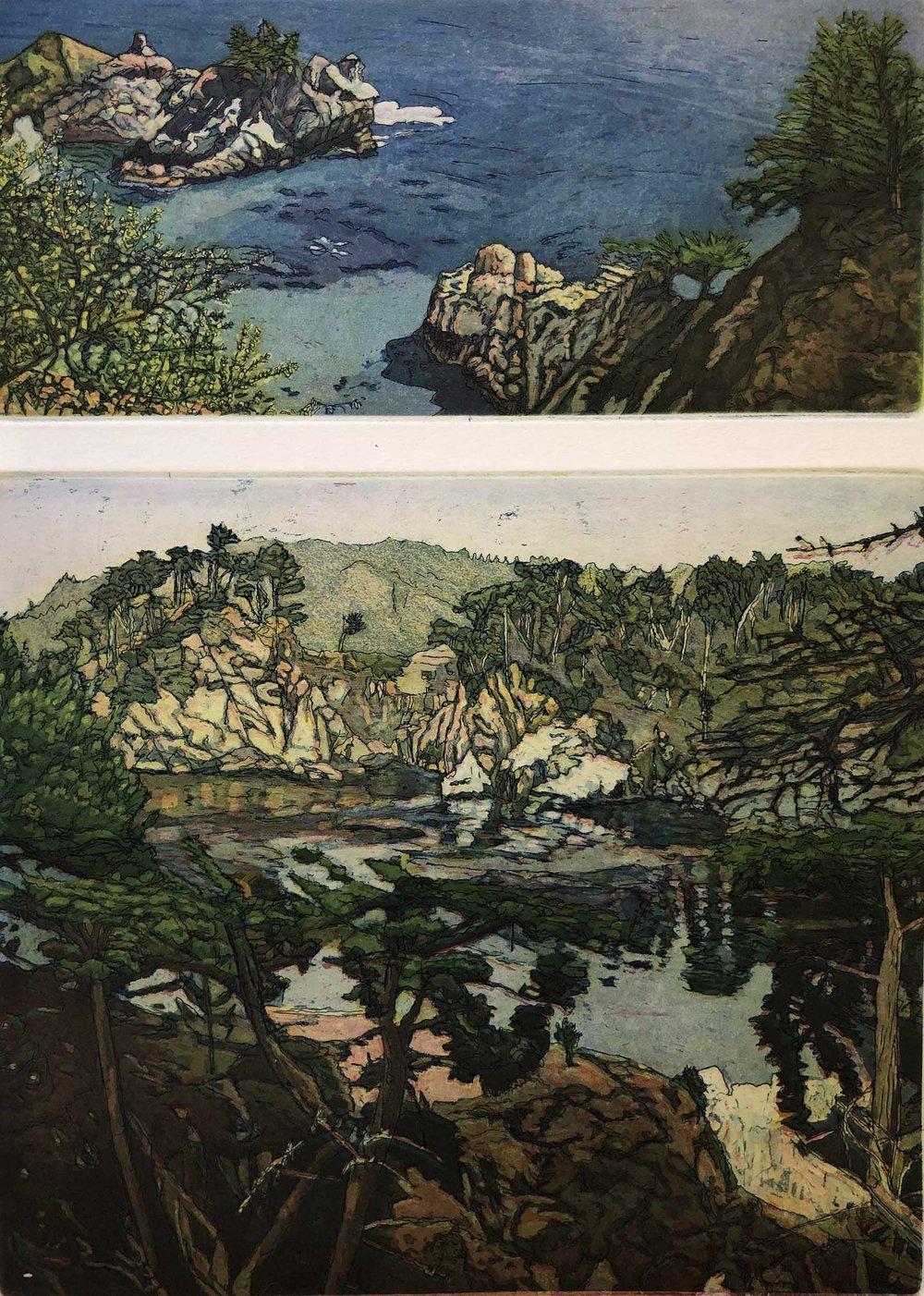 Coast Walk II: Pt. Lobos Big Sur/Big Sur