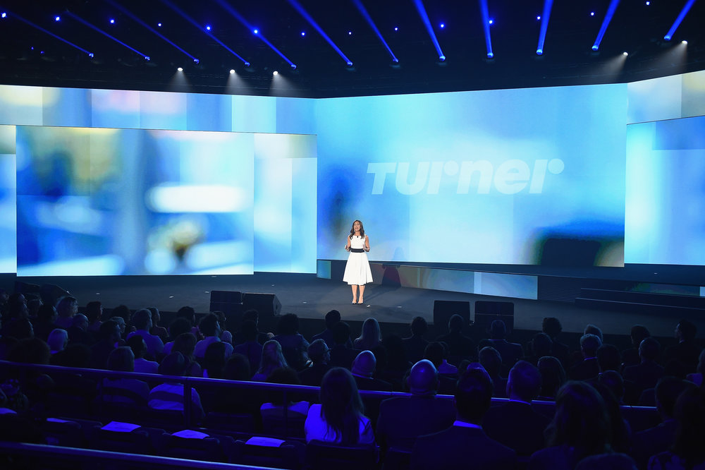 Donna Speciale , President of Turner Ad Sales at the  Turner Upfront 2017  show at The Theater at Madison Square Garden on May 17, 2017 in New York City. (Photo by Edward M. Pio Roda/Getty Images)