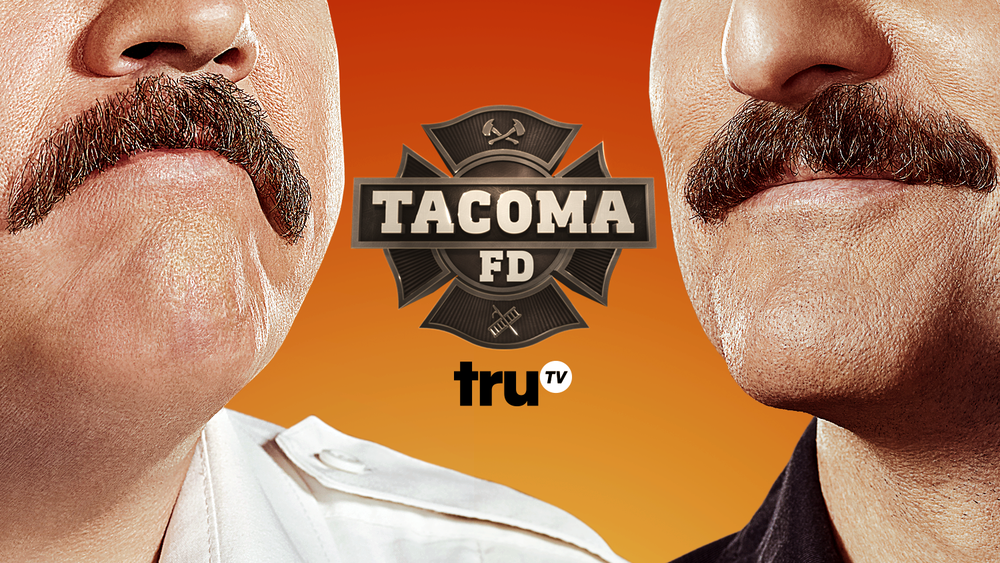 """Cop Wars"" - Ep.102: Andy and Ike's misstep on a call to a police officer's house fans the flames of the Tacoma FD's long-standing feud with the Tacoma PD. Chief McConky desperately tries to keep a lid on the dispute as he awaits funding for a new fire truck, but all goes awry as his crew slips into an all-out, tit-for-tat war with the cops."