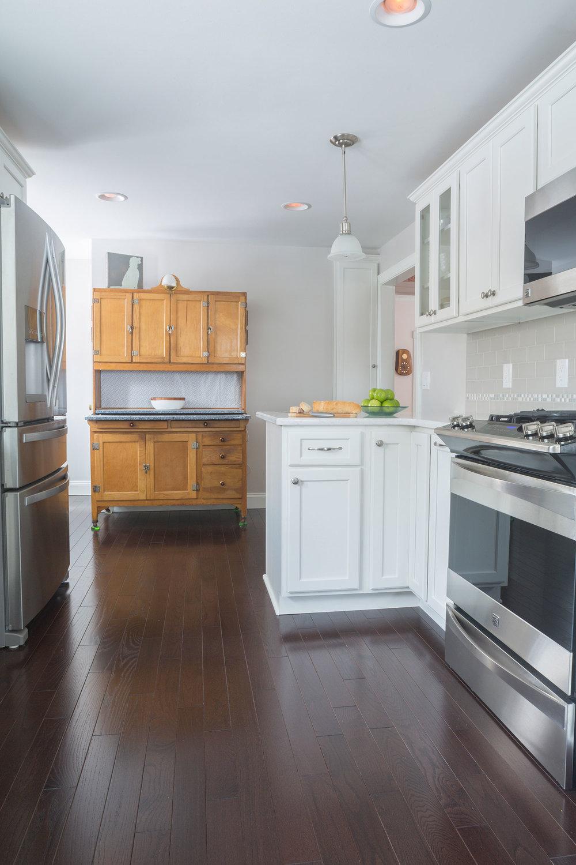 Fresh Linen kitchen Balboa Mist paint color