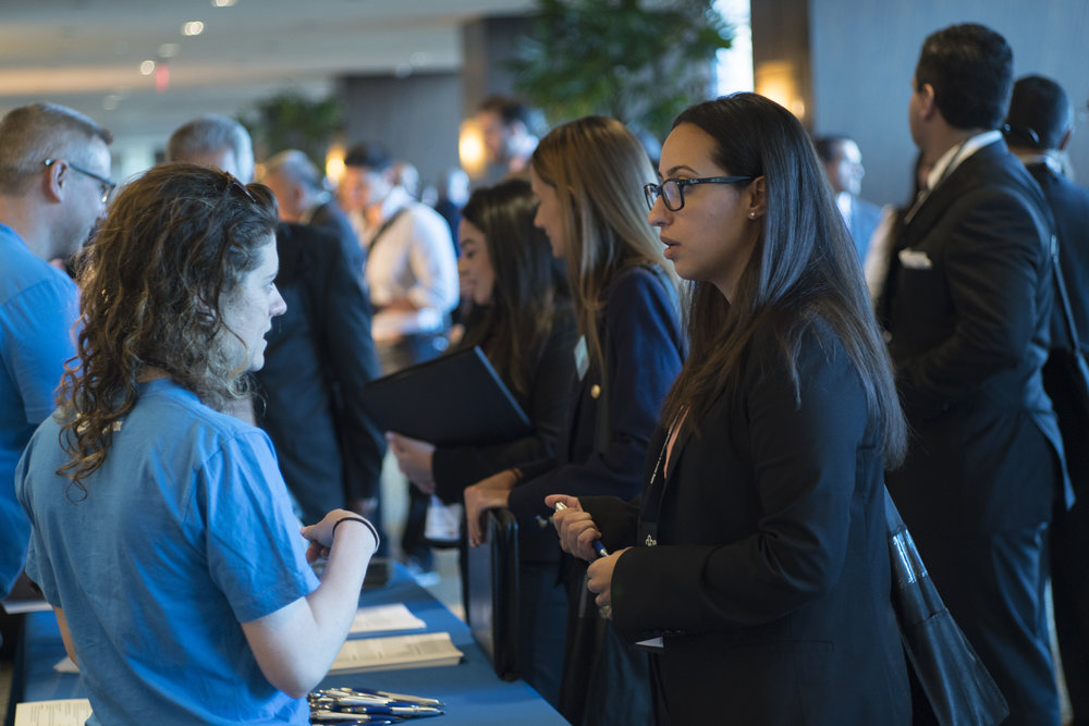 - Create lasting relationshipsOur members thrive through the support of a strong network.  This year's conference is a unique opportunity to connect with peers, potential mentors, and experts who can open new career opportunities for you.