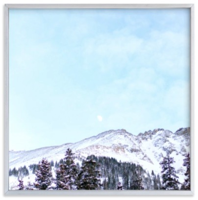 Mountains by Moonlight available at Minted.