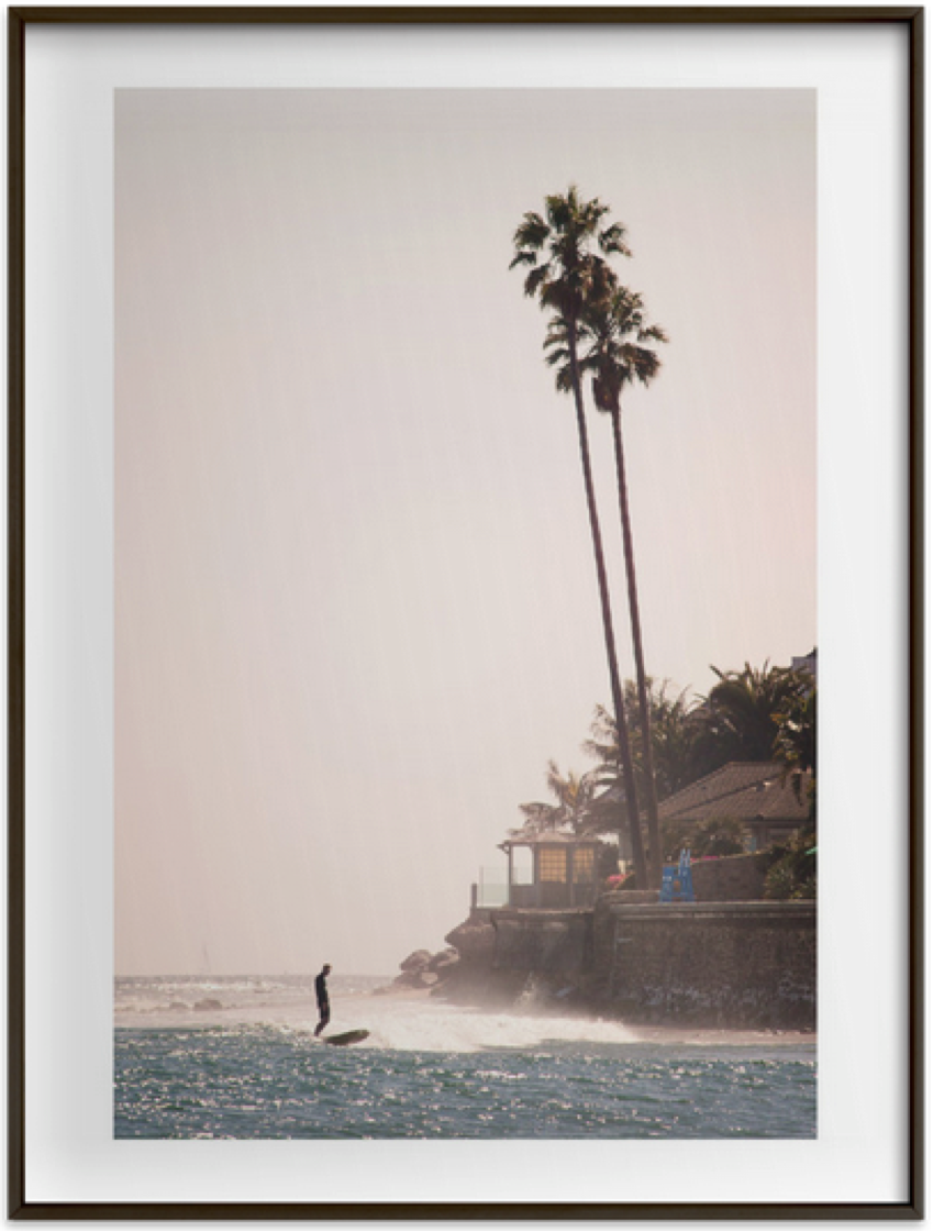 Stress-Free Surf available at  Minted .