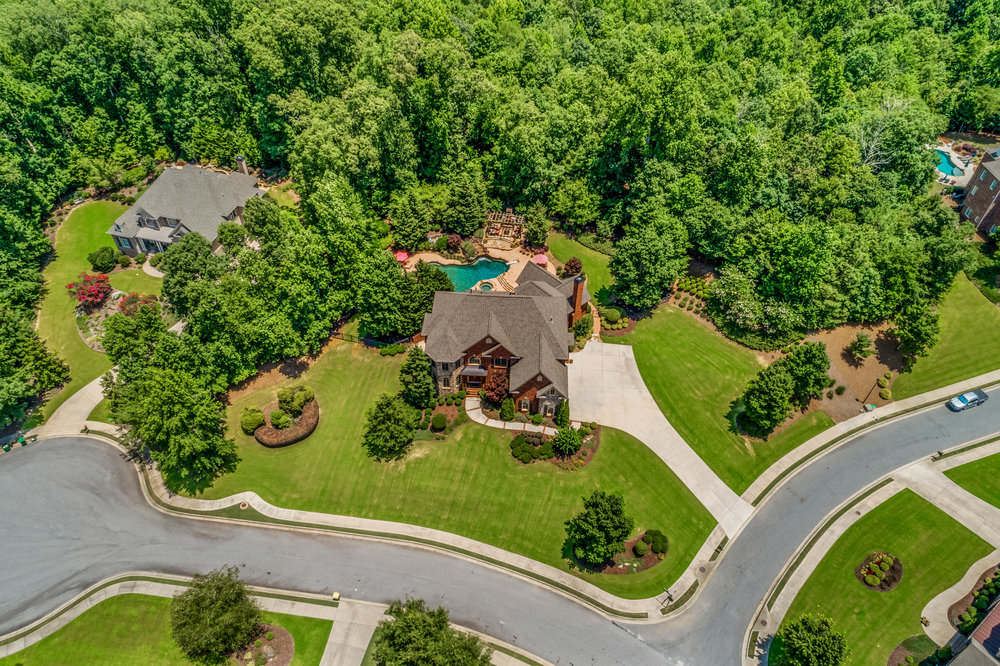 Aerial Photo Realestate