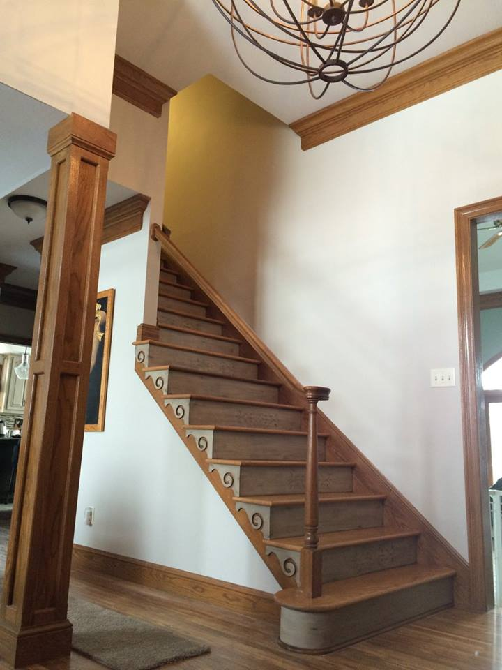 Restoration H Stair Risers