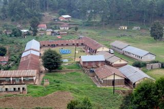 Muko High School from above