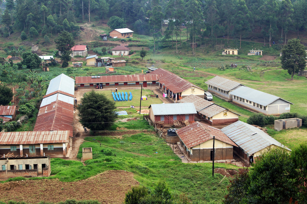 Muko High School from the air