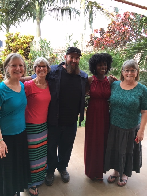 Linda, Eileen, Eric, Jackie & Sue