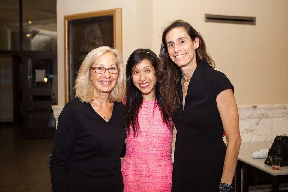 "Liquidaty co-founder Lisa Wong with Janis Collins and Jennifer Gabler, founders of The Refinery and the ""Fueling the Growth"" with UberPITCH competition."