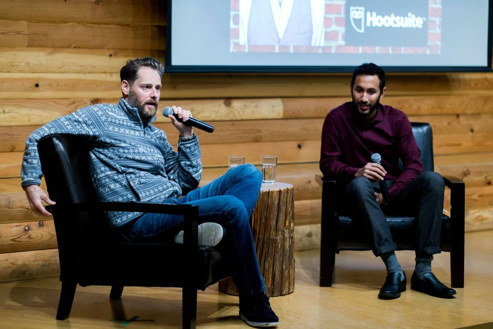 featured on vancity buzz - Ryan Holmes, CEO of Hootsuite at Taste of Entrepreneurship 2015