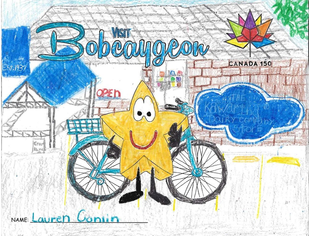 The Bikeshare colouring contest is well under way.  Check out two of the entries we've received from Quinten and Lauren!  Entries are available at the Welcome Center or scroll down to Colour Us Proud! below for download.  -